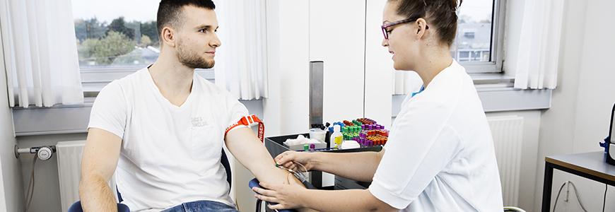 frederiksberg hospital blodprøve